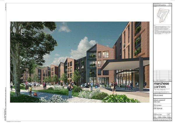 Nexus Planning Later Living Community in Walton-on-Thames